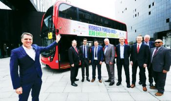 Hydrogen bus project launched in Liverpool
