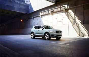 Volvo starts production of the XC40 SUV in China