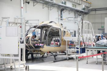 H135 final assembly line opens in China