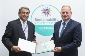 Tata Steel recognised for sustainability