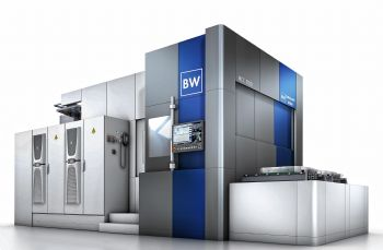 New four/five-axis machining centre