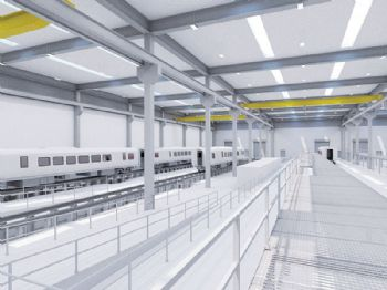 Rail manufacturing facility to create up to jobs