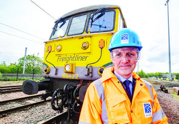 Rail freight fund for Scotland announced