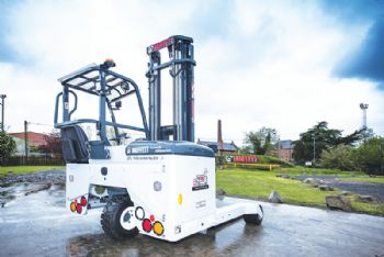 Hiab delivers 75,000th Moffett fork-lift