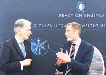 Chancellor of the Exchequer visits Reaction Engine