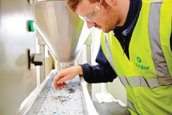 Viridor powers plastics recycling
