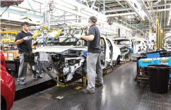 PMI report shows drop in UK automotive sector