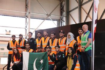 Pakistan's NUST university wins UAS Challenge