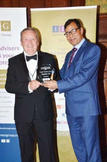 Renishaw celebrated for UK-India relations