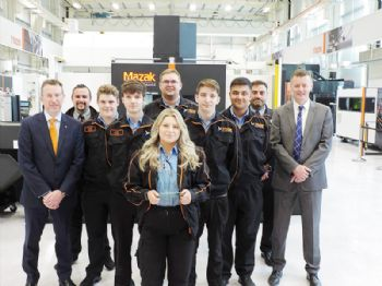 5G Consortium celebrates award win with Mazak