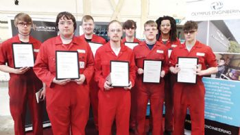 Apprentices benefit from free training