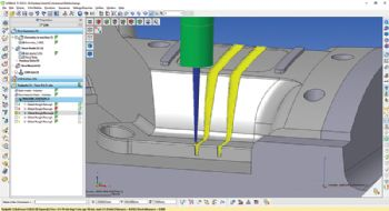 Enhanced five-axis programming with WorkNC
