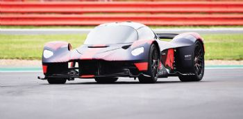 Aston Martin Valkyrie unveiled at Silverstone