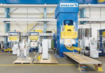 Aero-engine parts produced on Schuler presses