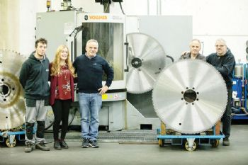 Italian saw blade firm 'puts its trust in Vollmer'