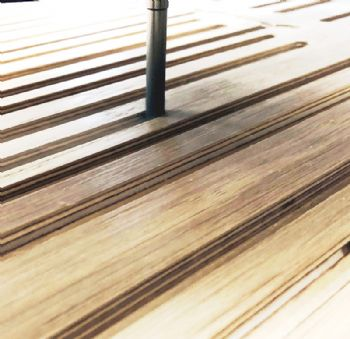 Woodcut gains benefits from using PCD tools