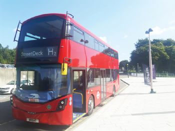 Wrightbus secures huge hydrogen bus deal