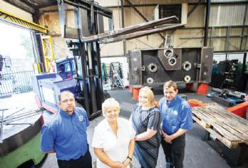 Mechanical power press firm doubles capacity