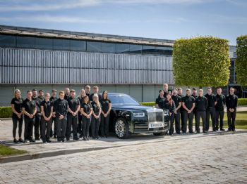Record number of apprentices join Rolls-Royce