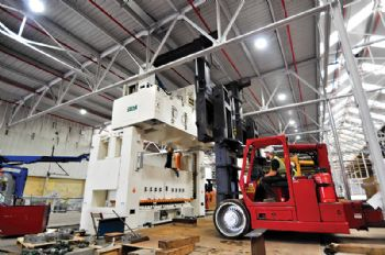 Merritts installs SEYI presses for UK agent
