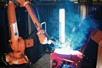 ABB automates welding  for Shelbourne Reynolds