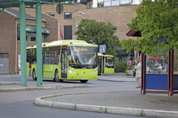Gas-powered buses for Norway