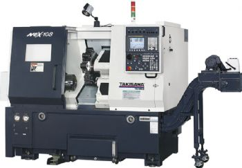 2-axis lathe offers power and speed