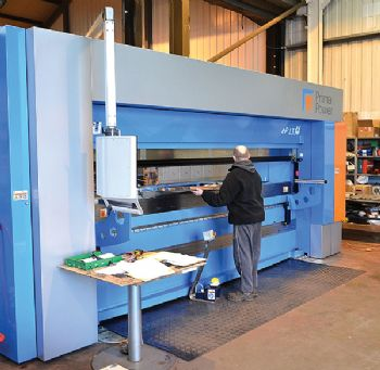 Servo-electric press brake