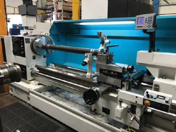 Hi-Spec precisions opts for heavy duty lathe