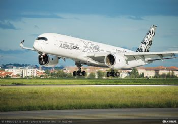 3-D printed parts for Airbus A350 XWB