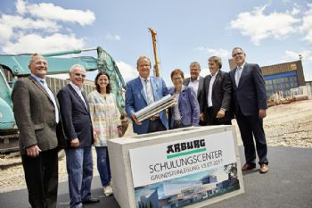 Arburg's new training centre underway