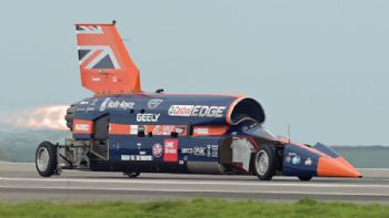 Bloodhound SSC successfully put through its paces