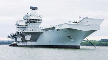 BAE to support the UK's new aircraft carriers