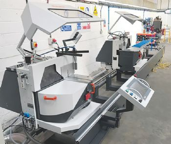 New automated mitre saw doubles capacity