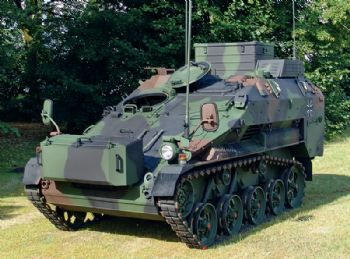 Morgan to supply armour solution for Wiesel