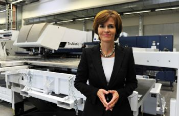 Significant boost in income for Trumpf
