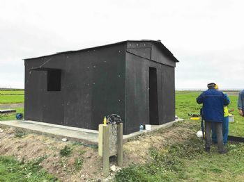 'Flat pack' emergency shelters to save lives