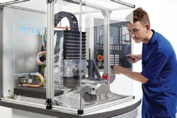 5-axis machine raises the skill levels