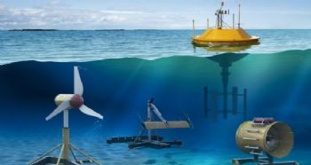Tidal-turbine booster invented