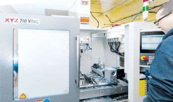 Five-axis machining in Cornwall