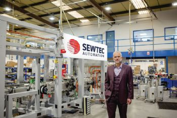 Robotics firm aims to double turnover