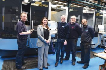 £400,000 in new wire eroders to drive growth