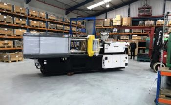 RP Technologies new injection moulding machine