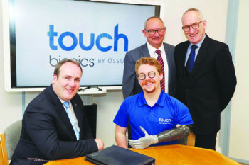 Touch Bionics in £5.6 million funding boost