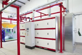 First gas catalytic infra-red oven in UK