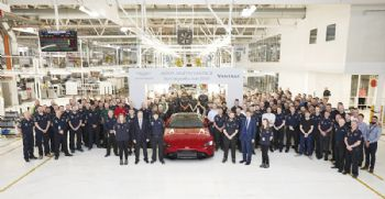 New Vantage rolls off the production line