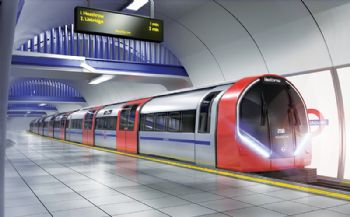 Siemens wins Tube train contract