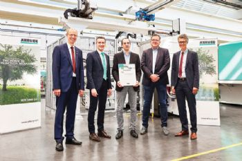100th Arburg machine for Berker