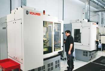 Vollmer machines central at Guhring facility
