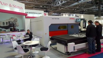 Durma fibre laser sold off stand at MACH